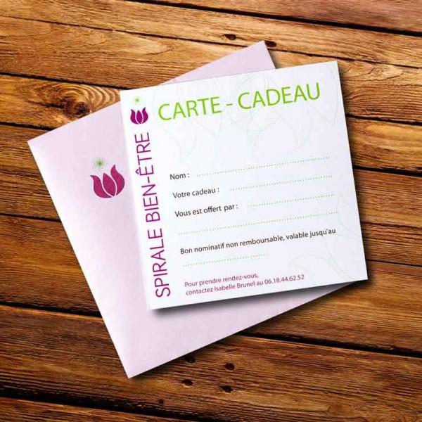 Carte Cadeau pour massage à domicile en région de Grasse / Paca 06